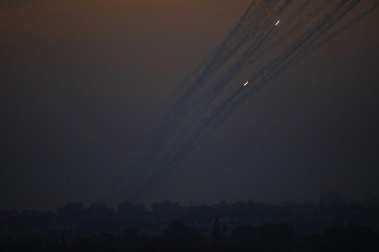 Izrael Palestínčania Gaza armáda nálety