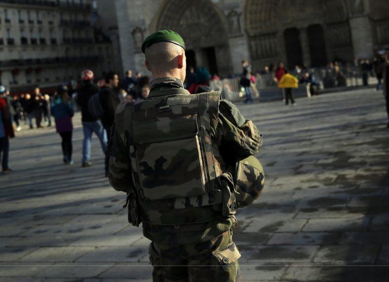 francúzsky vojak