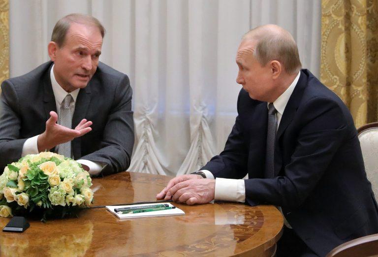 Vladimir Putin a Viktor Medvedčuk