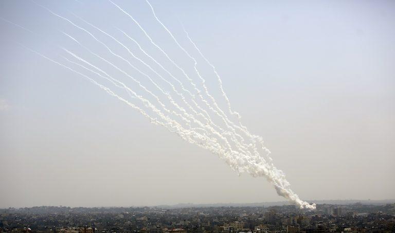 Raketové útoky z pásma Gazy na Izrael