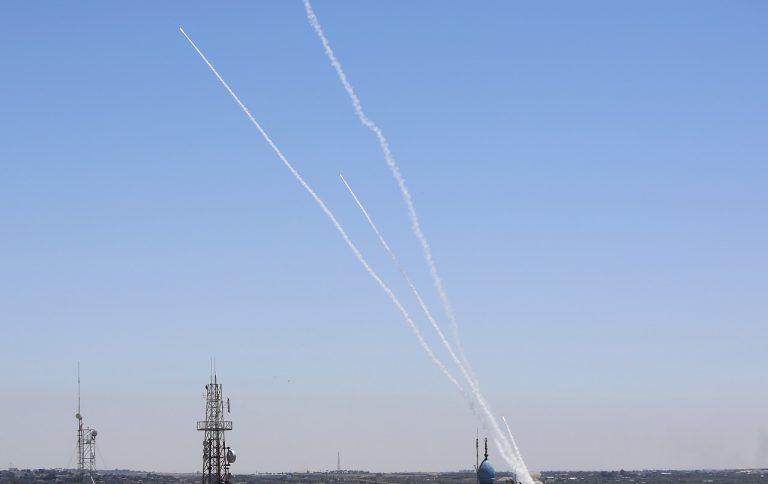 Izrael Palestínčania armáda útok raketový ofenzíva