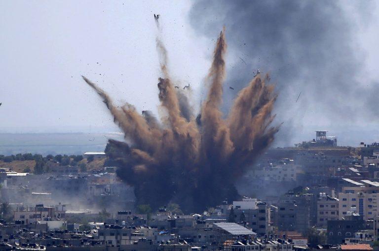 izraelský útok