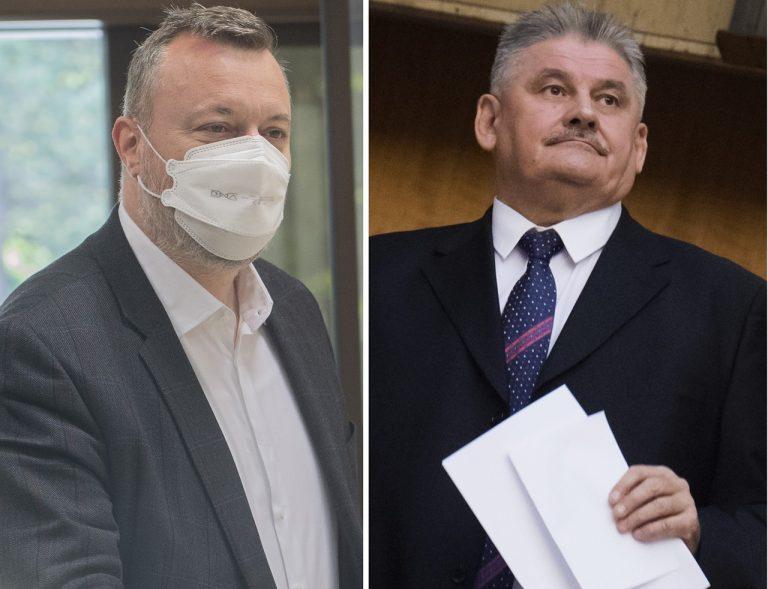 Milan Krajniak a Ján Richter