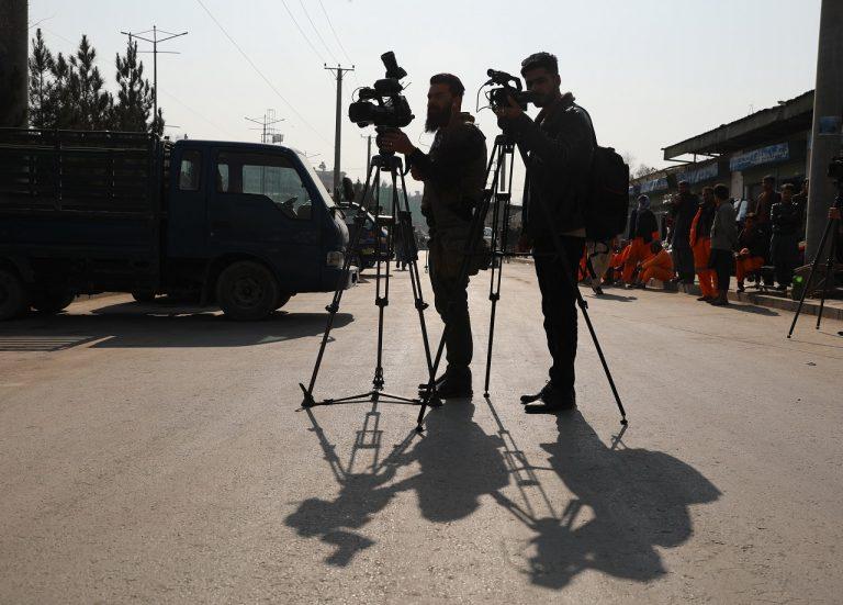 afganskí novinári