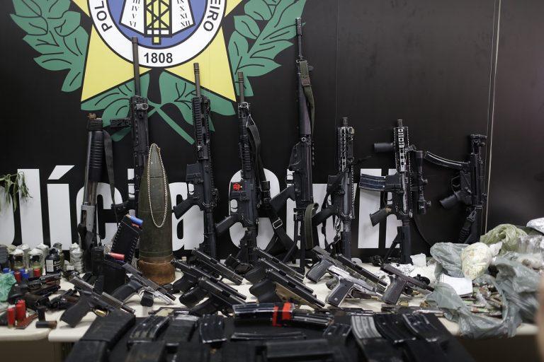 Policajná razia Rio de Janeiro