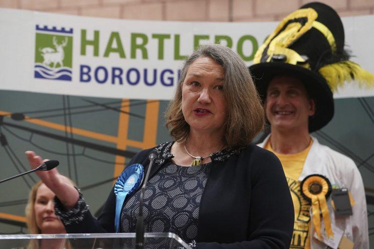 Jill Mortimerová Konzervatívna strana voľby GB