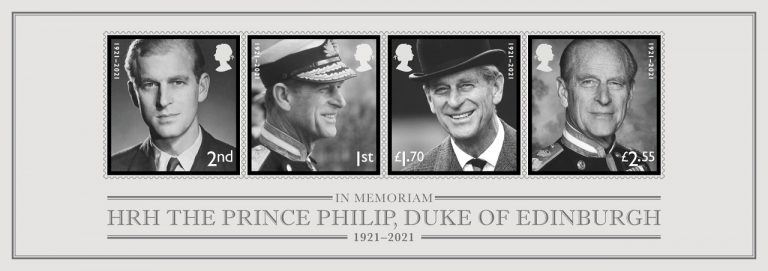 pošta, známky prind Phillip