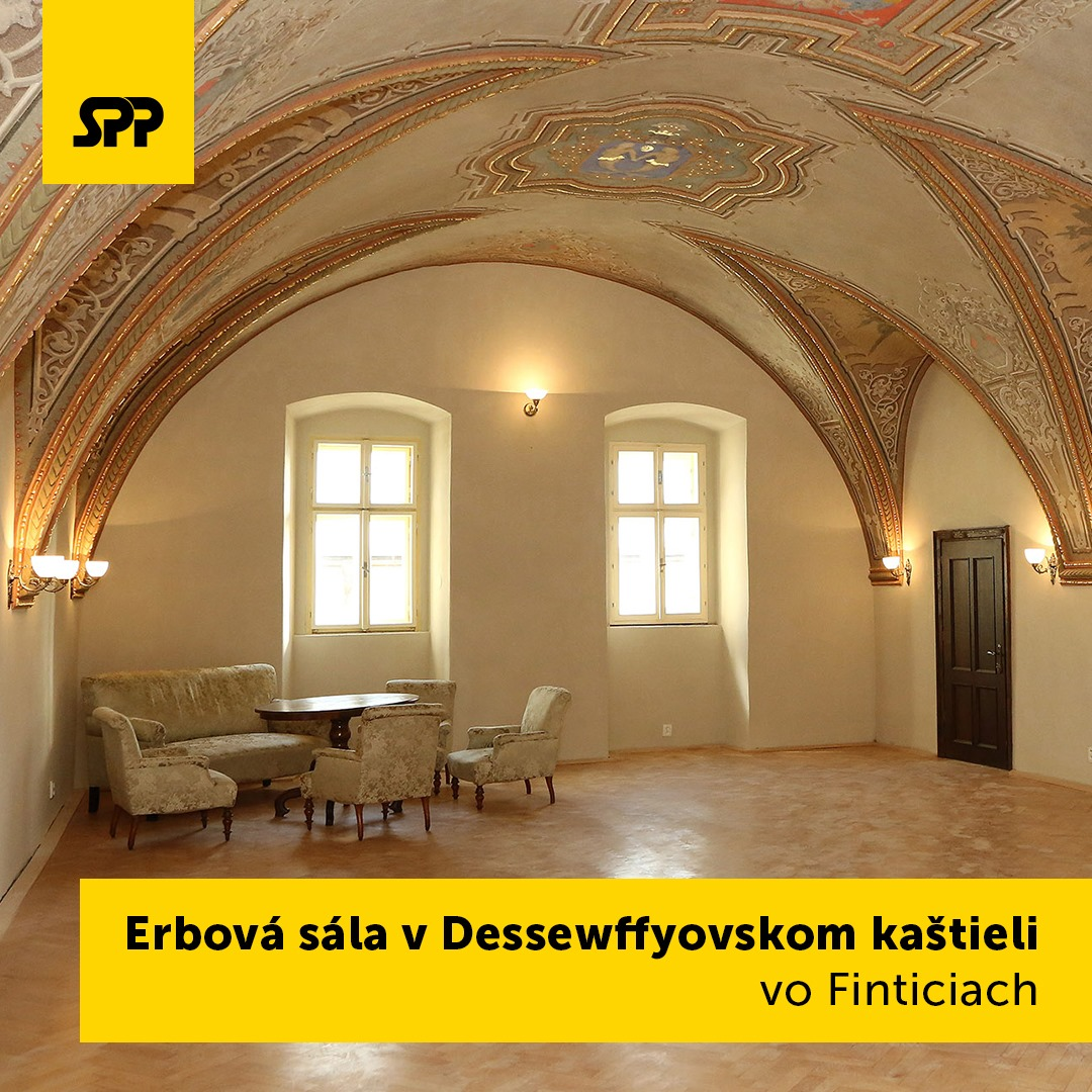 Erbová sála v Dessewffyovskom kaštieli