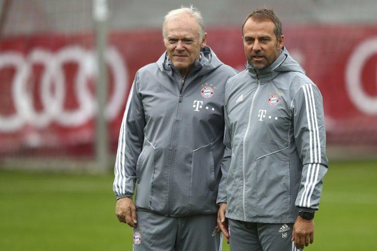 Bayern Mníchov Hansi Flick Hermann Gerland