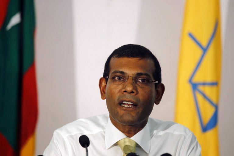 Bývalý maldivský prezident a súčasný predseda parlamentu Muhammad Našíd