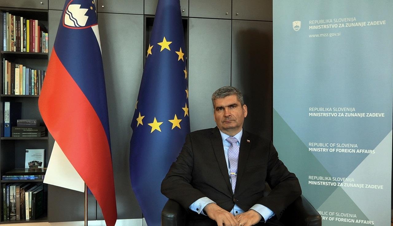 Stanislav Raščan štátny tajomník ministerstva zahraničných vecí Slovinska