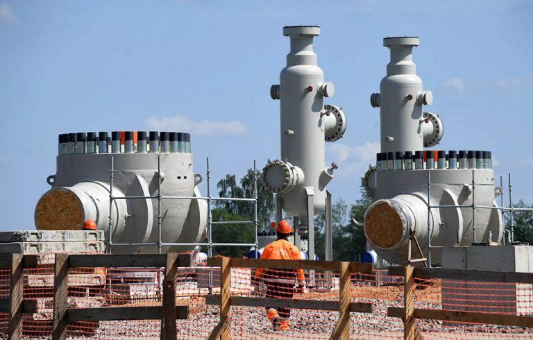 Stavba Nord Streamu 2