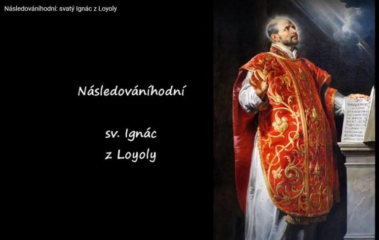 Sv. Ignác z Loyoly