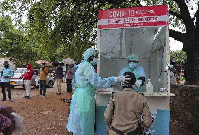 India koronavírus