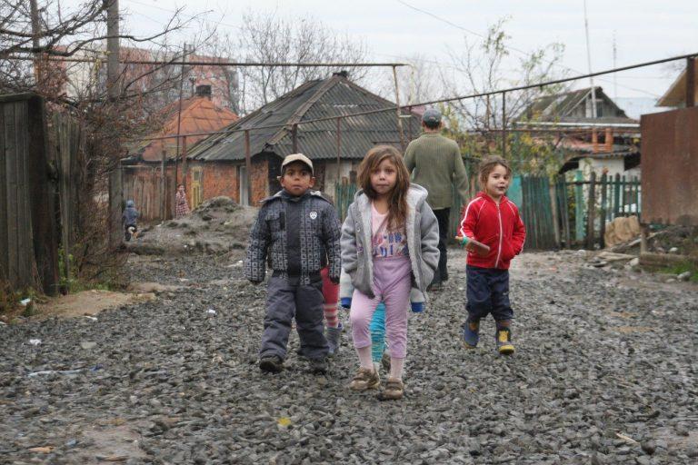 rómske deti