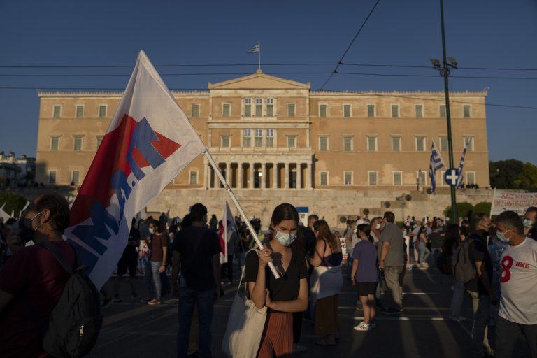 grecko protest