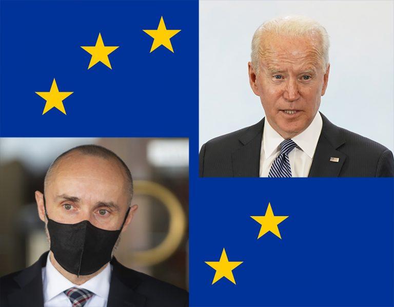Tomáš Valášek Joe Biden