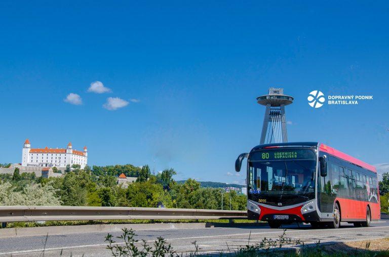 Dopravný podnik Bratislava, autobus
