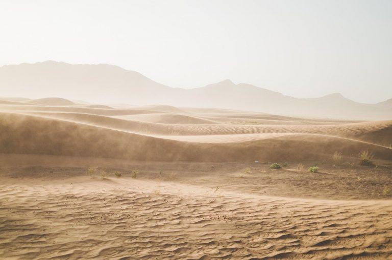 púšť, piesok