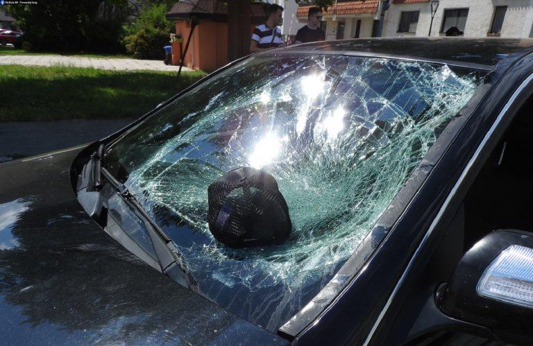 nehoda na elektrokolobežke