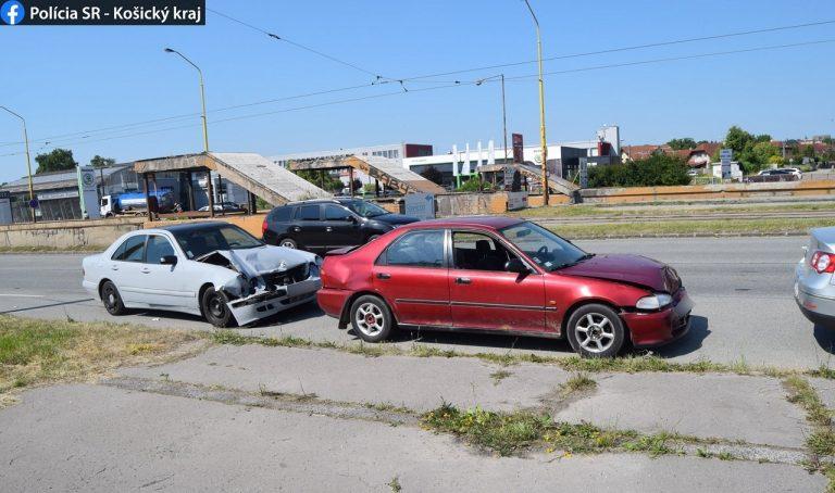 nehoda v Košiciach