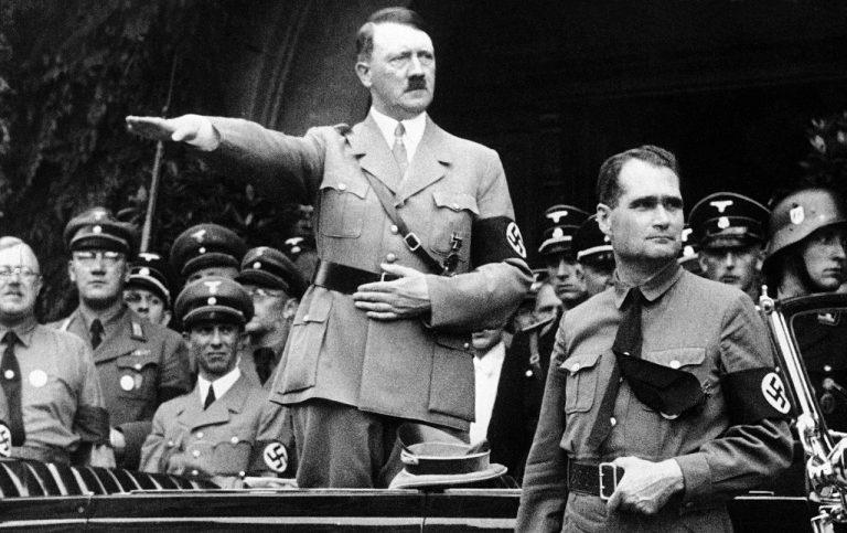 Rudolf Hess Adolf Hitler 2. svetová vojna