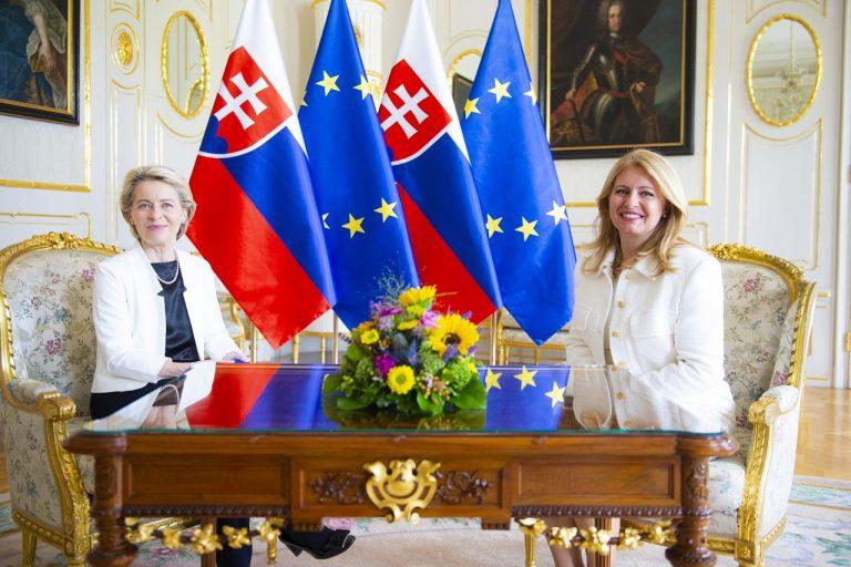 Ursula von der Leyenová na návšteve Slovenska