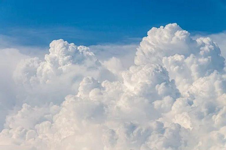 obloha, mraky
