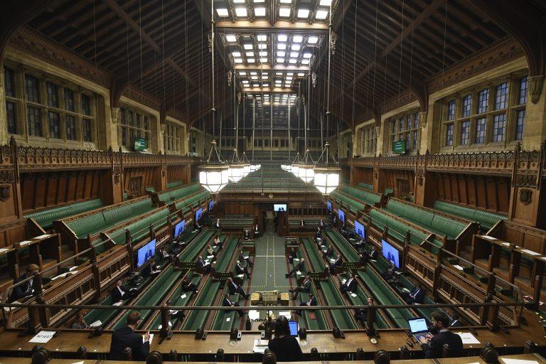 britsky parlament