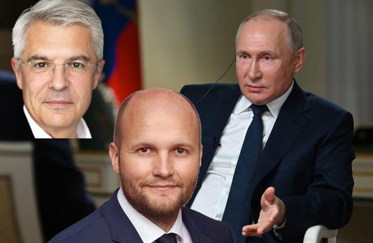 Ivan Korčok Jaroslav Naď Vladimir Putin