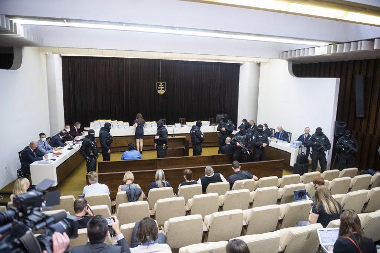 verejné zasadnutie na Najvyššom súde (NS) SR v kauze vraždy Jána Kuciaka a jeho snúbenice Martiny Kušnírovej