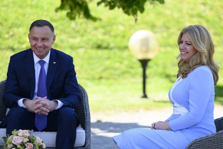 Stretnutie prezidentky SR Zuzany Čaputovej s poľským prezidentom