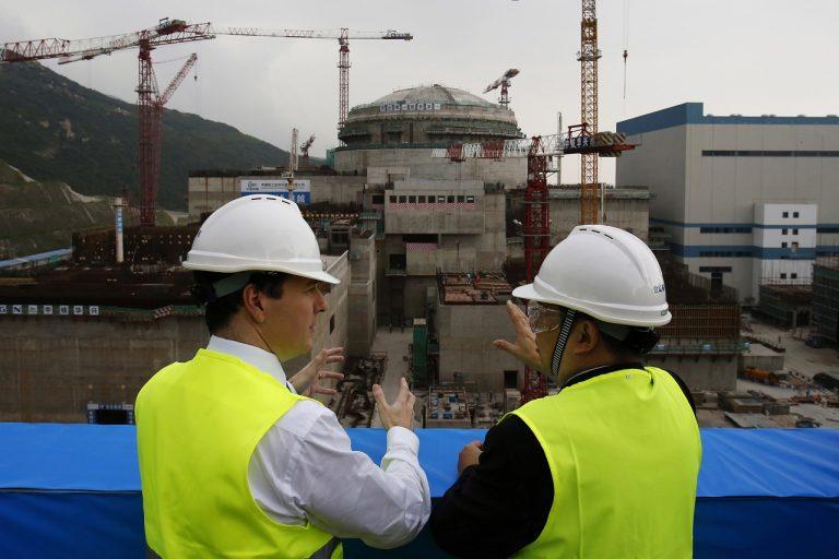 Čína elektráreň jadrová únik plyny