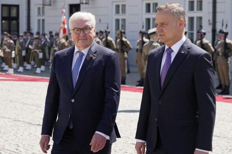 Andrzej Duda a Frank-Walter Steinmeier