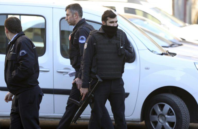 Tureckí policajti