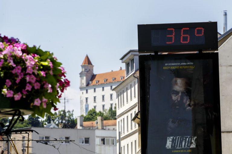 počasie horúčavy