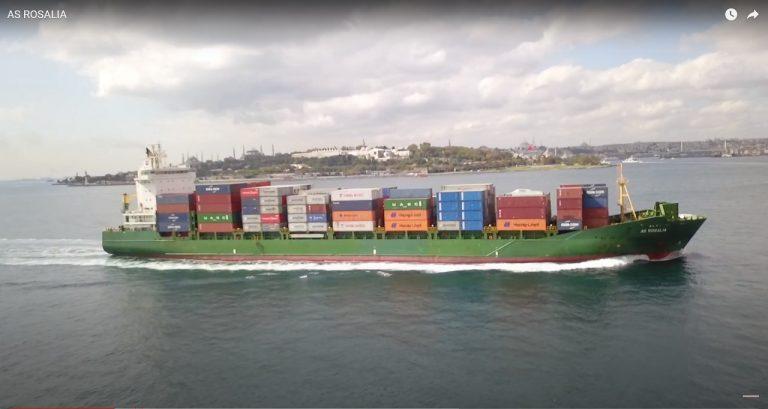 kontajnerová loď AS Rosalia