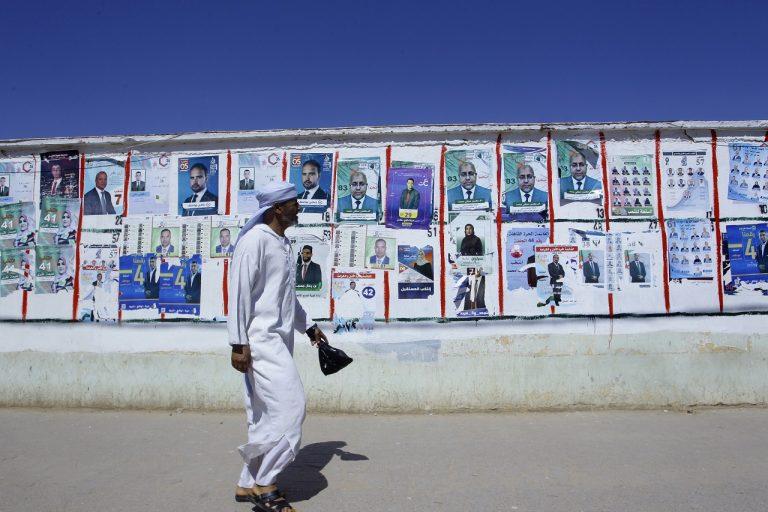muž v Alžírsku