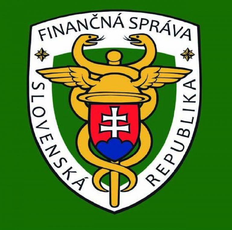 Finančná správa, logo