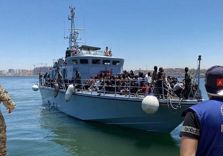 Líbya Migranti