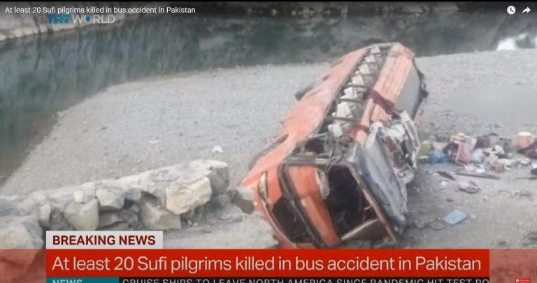 Nehoda autobus Pakistan
