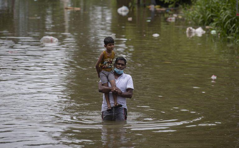 Srí Lanka _ povodne