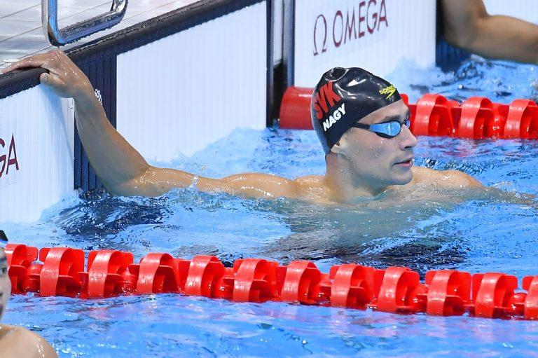 slovenský plavec Richard Nagy