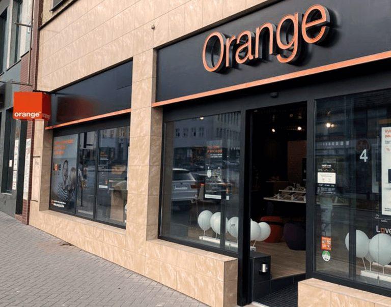 predajňa Orange