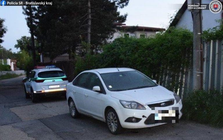 ukradnuté auto