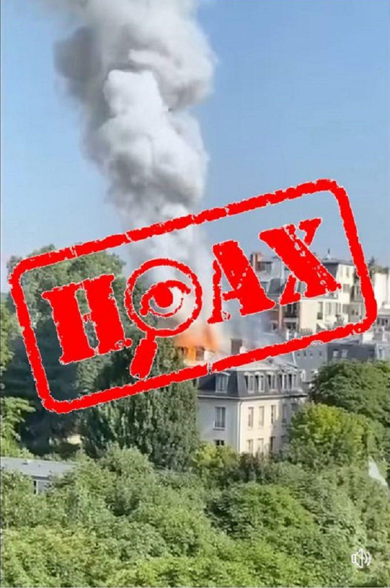 Polícia vyvracia hoax o požiari v sídle francúzskeho premiéra