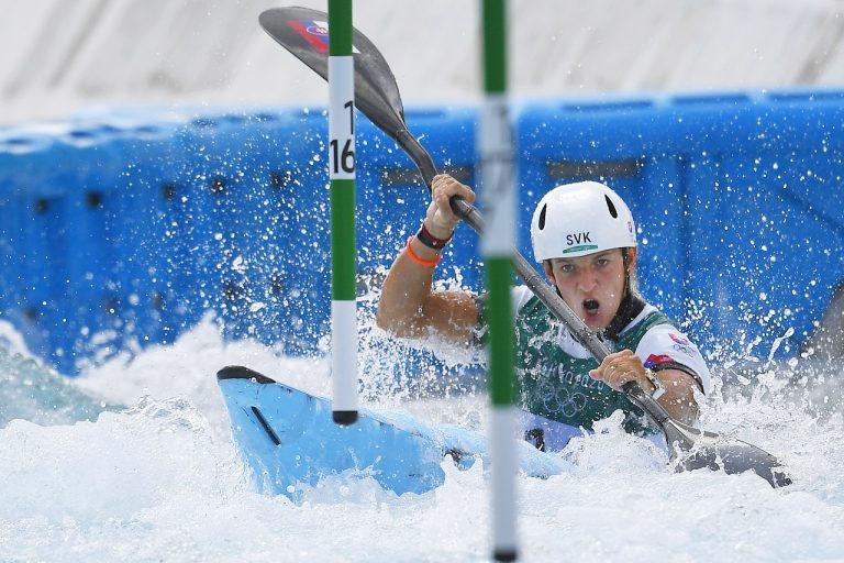 Kvalifikácia K1 vo vodnom slalome žien
