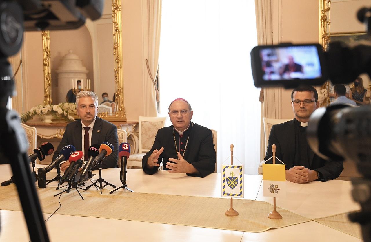 Príprava návštevy pápeža Františka v Košiciach