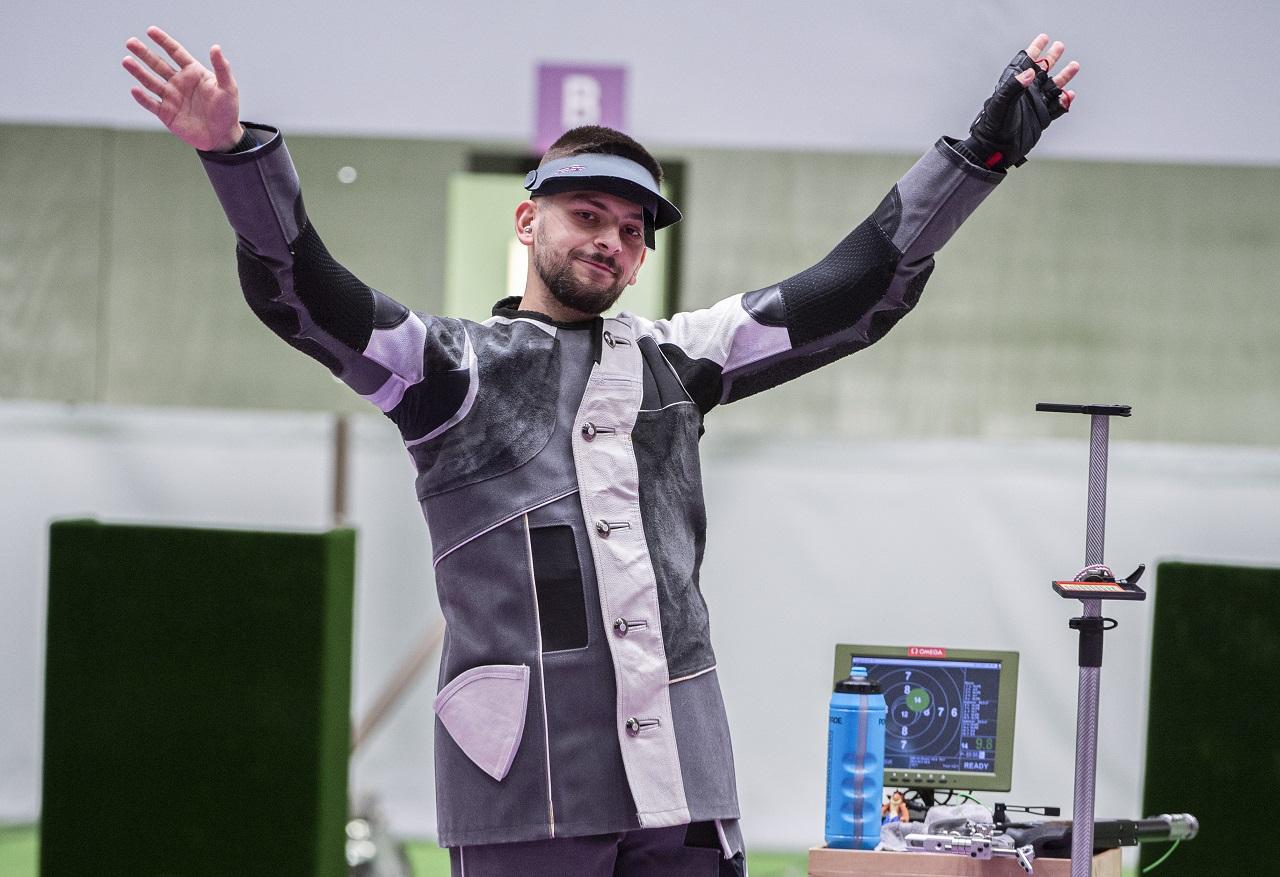 Mužské finále vo vzduchovej puške na 10 m