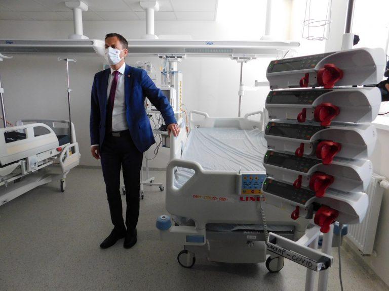 Eduard Heger navštívil nemocnicu s poliklinikou v Bojniciach